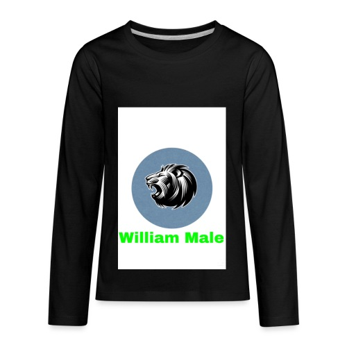 William Male - Kids' Premium Long Sleeve T-Shirt