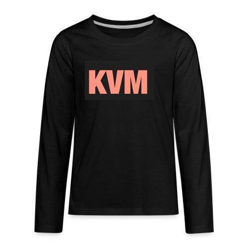 Kas vlogs m - Kids' Premium Long Sleeve T-Shirt