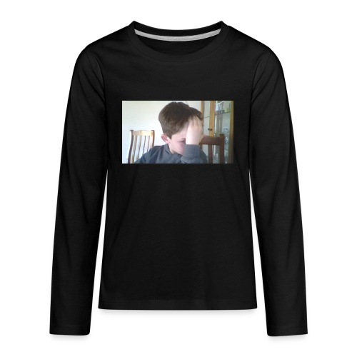 Luiz FAce!! - Kids' Premium Long Sleeve T-Shirt