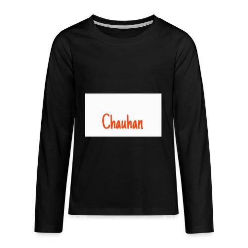 Chauhan - Kids' Premium Long Sleeve T-Shirt
