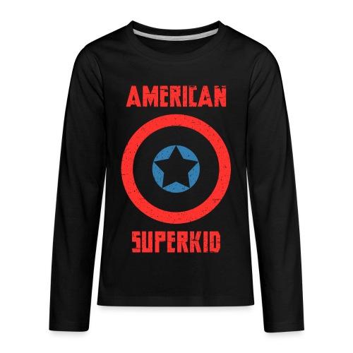 American Superkid - Kids' Premium Long Sleeve T-Shirt