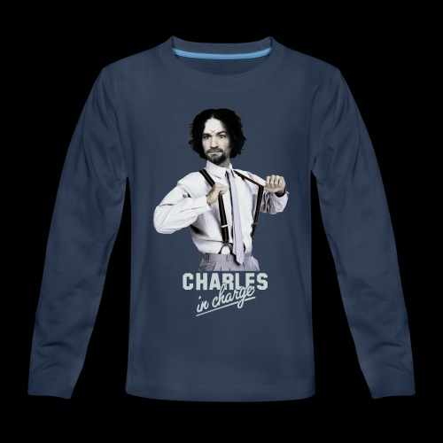 CHARLEY IN CHARGE - Kids' Premium Long Sleeve T-Shirt