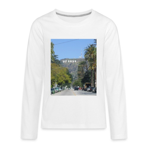 RockoWood Sign - Kids' Premium Long Sleeve T-Shirt