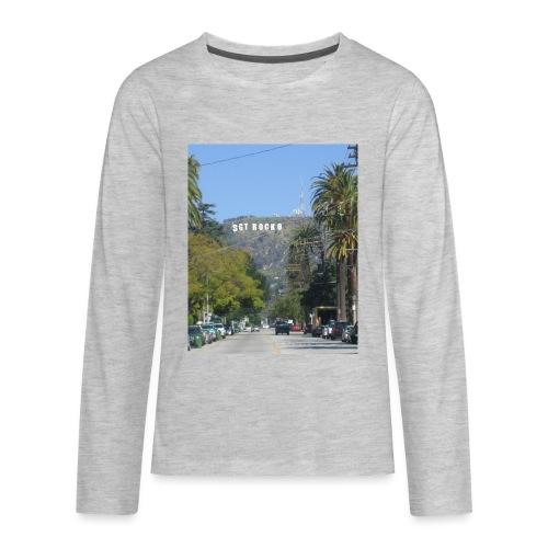 RockoWood Sign - Kids' Premium Long Sleeve T-Shirt