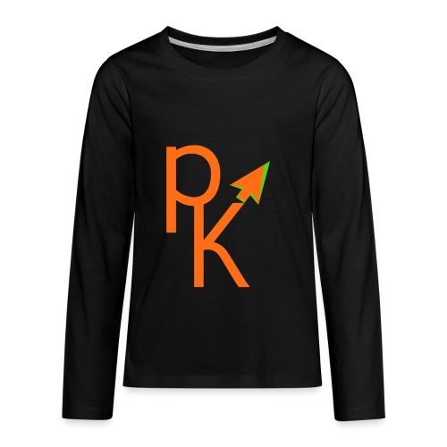 Plusklix Logo - Kids' Premium Long Sleeve T-Shirt