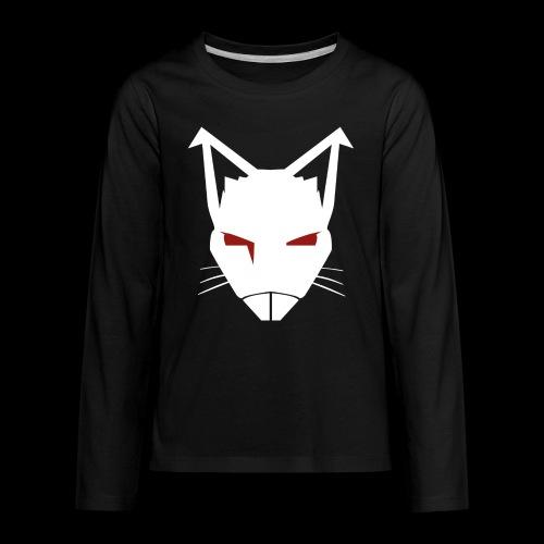 RatCrusher (WHITE) - Kids' Premium Long Sleeve T-Shirt