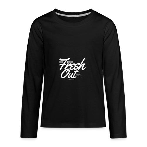 Fresh Out Beats Logo 24 - Kids' Premium Long Sleeve T-Shirt