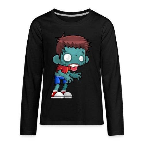 male zombie - Kids' Premium Long Sleeve T-Shirt