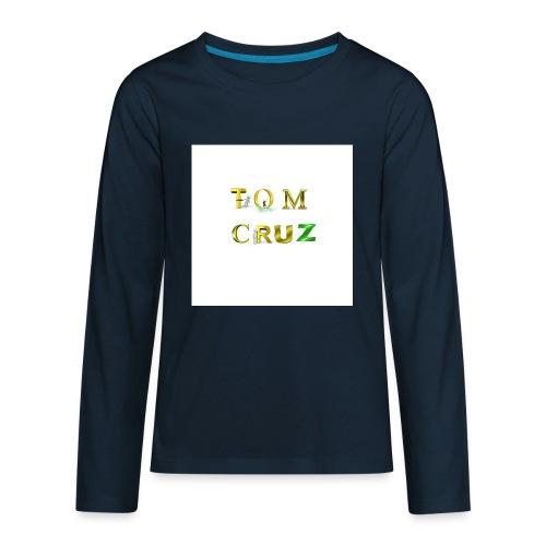 Tom Cruz Logo - Kids' Premium Long Sleeve T-Shirt