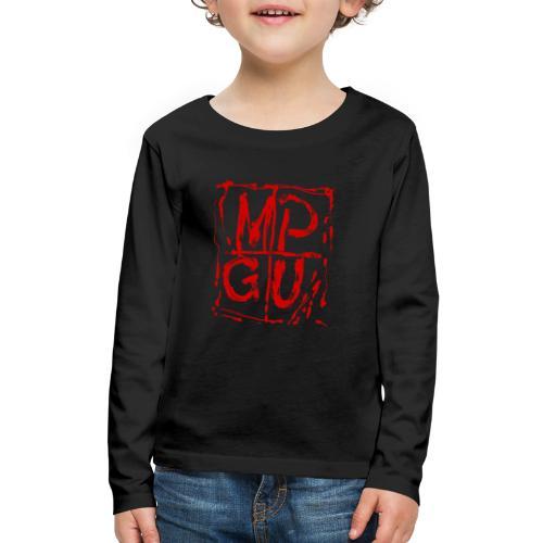 MPGU RED STROKE - Kids' Premium Long Sleeve T-Shirt
