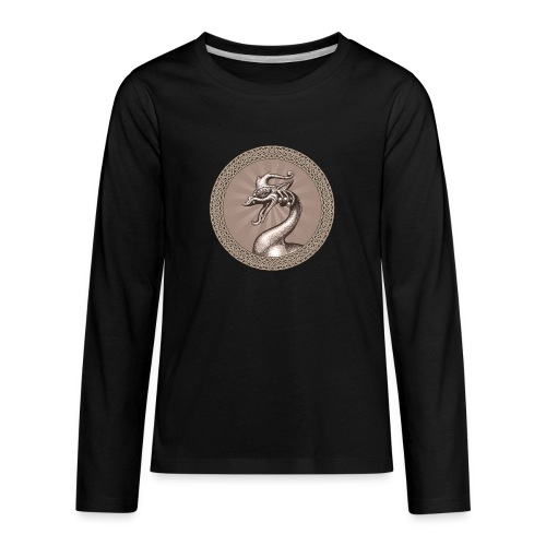 Laughing Dragon - Kids' Premium Long Sleeve T-Shirt