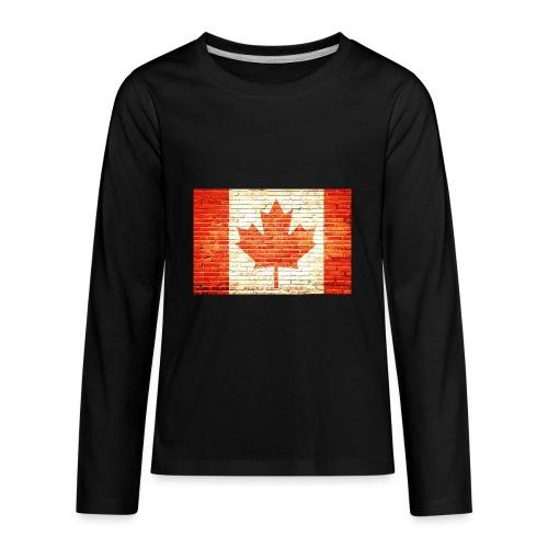Canada flag - Kids' Premium Long Sleeve T-Shirt