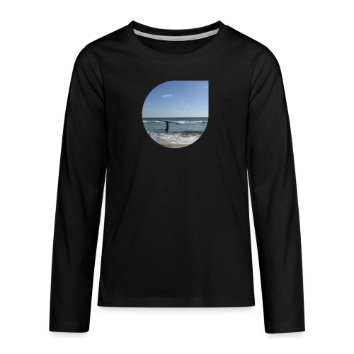 Floating sand - Kids' Premium Long Sleeve T-Shirt
