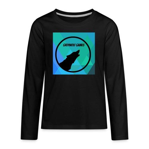 Logo TO Merch - Kids' Premium Long Sleeve T-Shirt