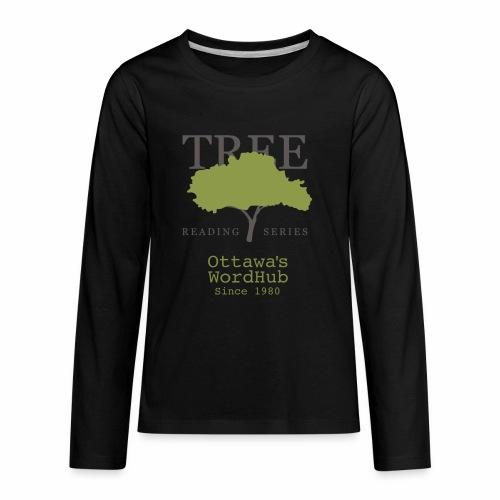 Tree Reading Swag - Kids' Premium Long Sleeve T-Shirt