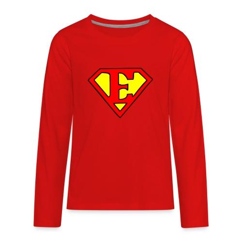super E - Kids' Premium Long Sleeve T-Shirt