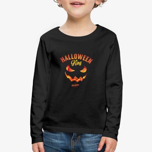 Halloween King - Kids' Premium Long Sleeve T-Shirt