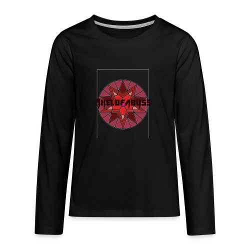 Axelofabyss shades of red - Kids' Premium Long Sleeve T-Shirt