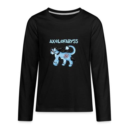 axelofabyss pocket monster - Kids' Premium Long Sleeve T-Shirt