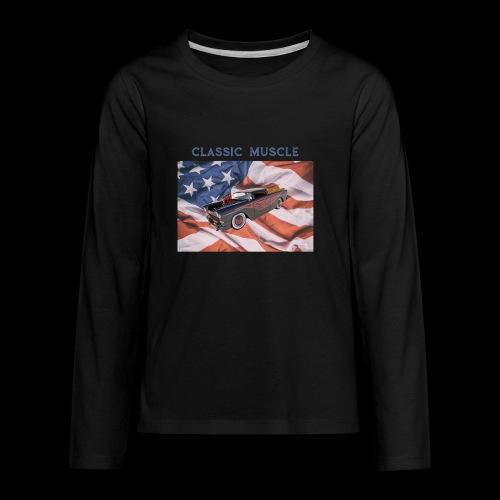 CLASSIC MUSCLE - Kids' Premium Long Sleeve T-Shirt