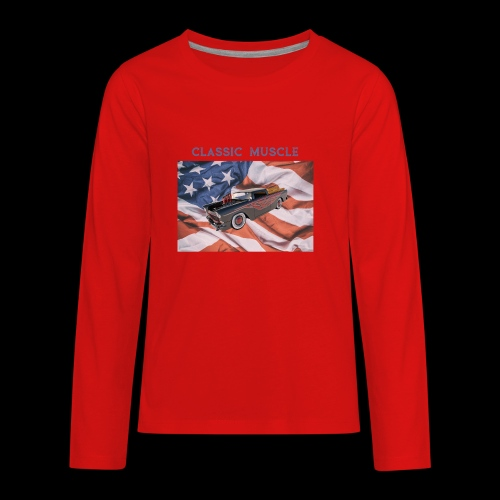 CLASSIC MUSCLE - Kids' Premium Long Sleeve T-Shirt
