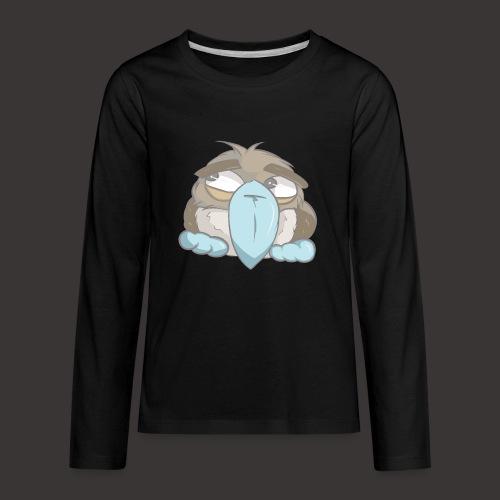 Cute Boobie Bird - Kids' Premium Long Sleeve T-Shirt