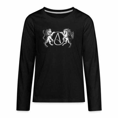 AR Manila Atheist Logo - Kids' Premium Long Sleeve T-Shirt
