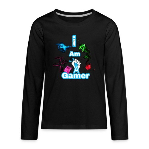 I am a gear - Kids' Premium Long Sleeve T-Shirt