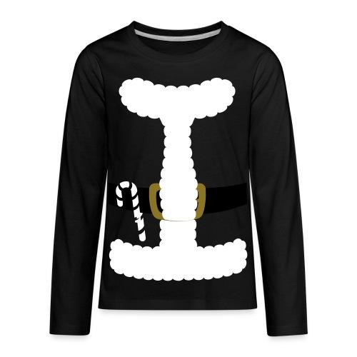 SANTA CLAUS SUIT - Men's Polo Shirt - Kids' Premium Long Sleeve T-Shirt
