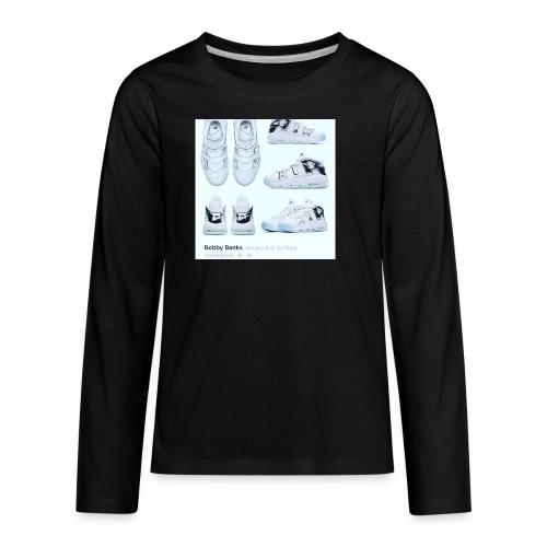 04EB9DA8 A61B 460B 8B95 9883E23C654F - Kids' Premium Long Sleeve T-Shirt