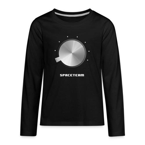 Spaceteam Dial - Kids' Premium Long Sleeve T-Shirt