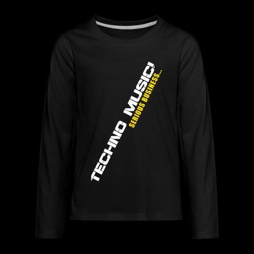 Techno Music - Kids' Premium Long Sleeve T-Shirt