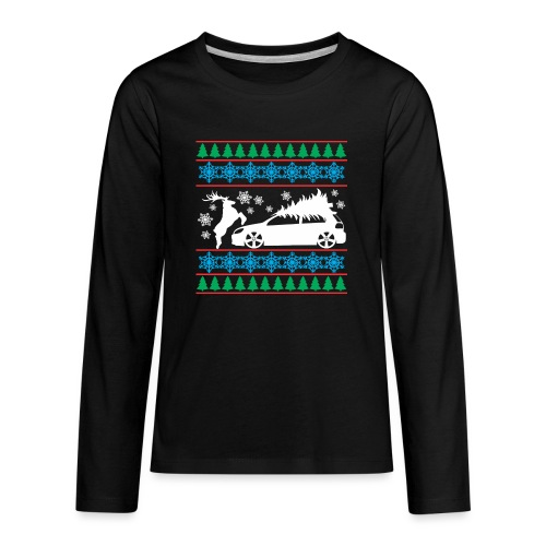 MK6 GTI Ugly Christmas Sweater - Kids' Premium Long Sleeve T-Shirt