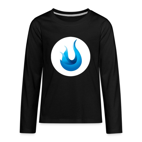 flame front png - Kids' Premium Long Sleeve T-Shirt