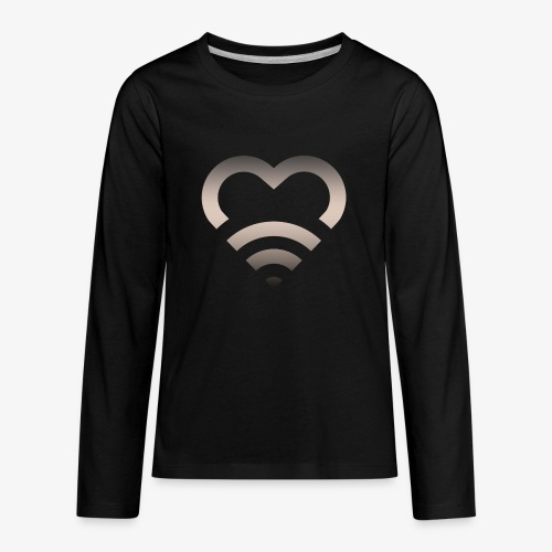 I Heart Wifi IPhone Case - Kids' Premium Long Sleeve T-Shirt
