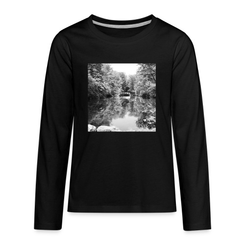 Lone - Kids' Premium Long Sleeve T-Shirt