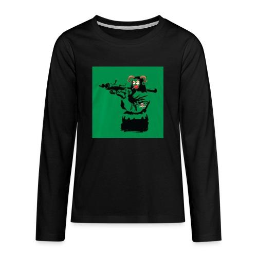 Baskey mona lisa - Kids' Premium Long Sleeve T-Shirt