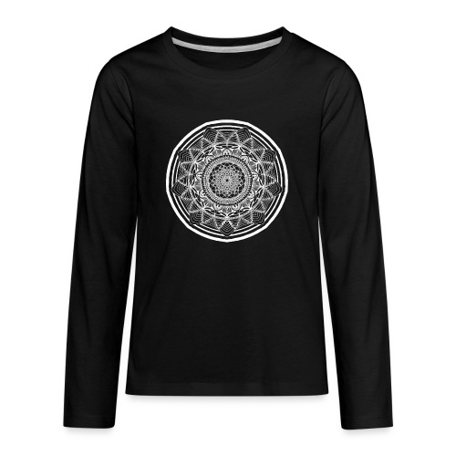 Circle No.1 - Kids' Premium Long Sleeve T-Shirt
