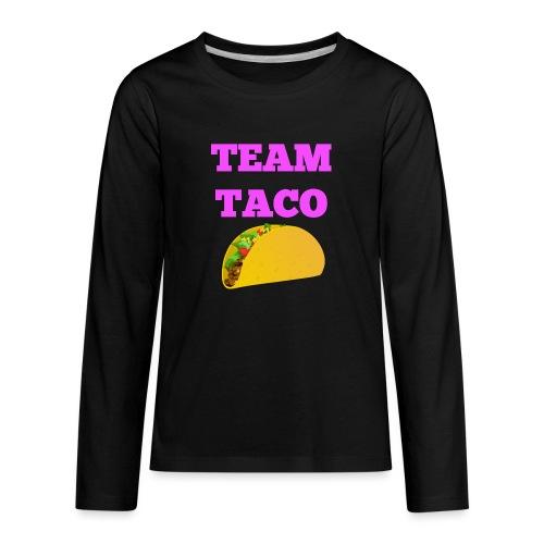 TEAMTACO - Kids' Premium Long Sleeve T-Shirt