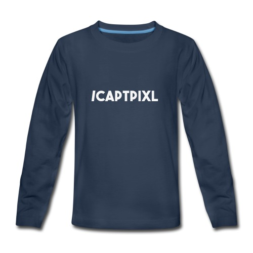 My Social Media Shirt - Kids' Premium Long Sleeve T-Shirt