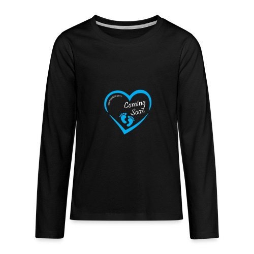 Baby coming soon - Kids' Premium Long Sleeve T-Shirt