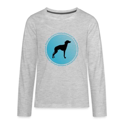 Italian Greyhound - Kids' Premium Long Sleeve T-Shirt