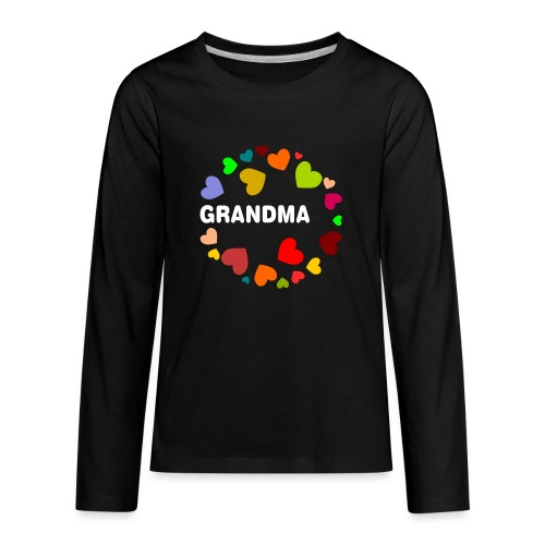 Grandma - Kids' Premium Long Sleeve T-Shirt