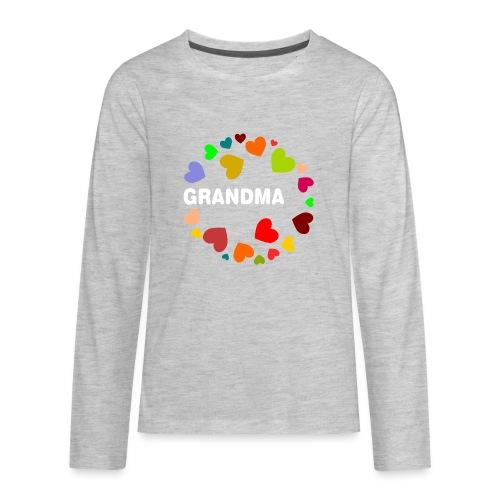 Grandma - Kids' Premium Long Sleeve T-Shirt