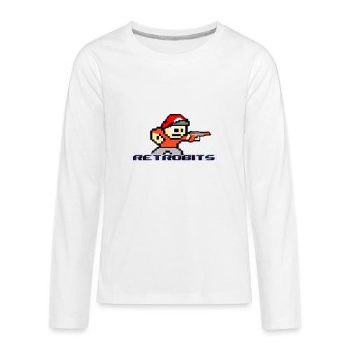 RetroBits Clothing - Kids' Premium Long Sleeve T-Shirt