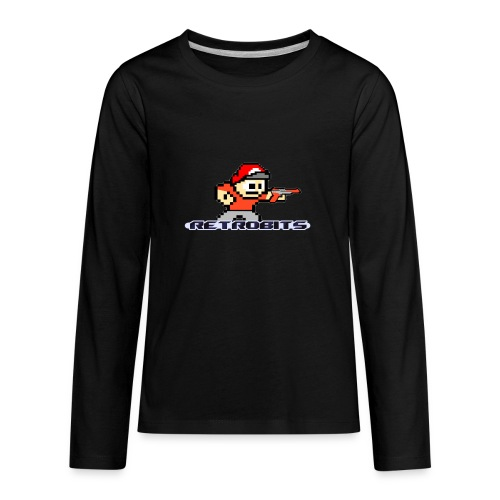 RetroBits Clothing - Kids' Premium Long Sleeve T-Shirt