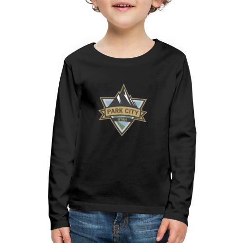 Park City, Utah - Kids' Premium Long Sleeve T-Shirt