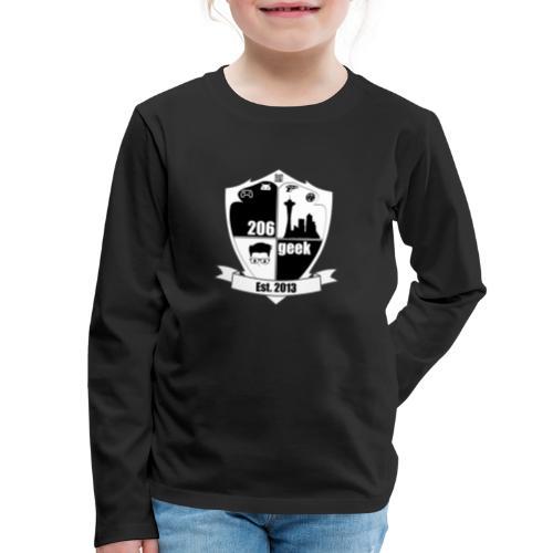 206geek podcast - Kids' Premium Long Sleeve T-Shirt