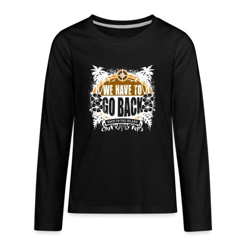 goback2 - Kids' Premium Long Sleeve T-Shirt