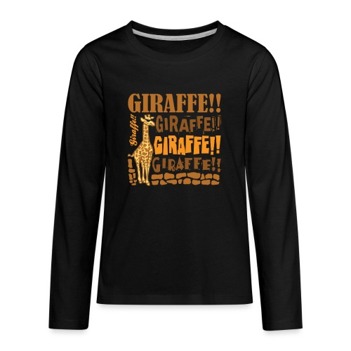 Giraffe!! - Kids' Premium Long Sleeve T-Shirt